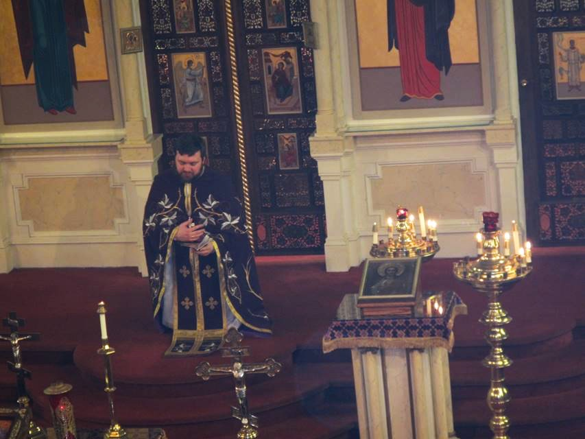 Pictures from Forgiveness Sunday Vespers