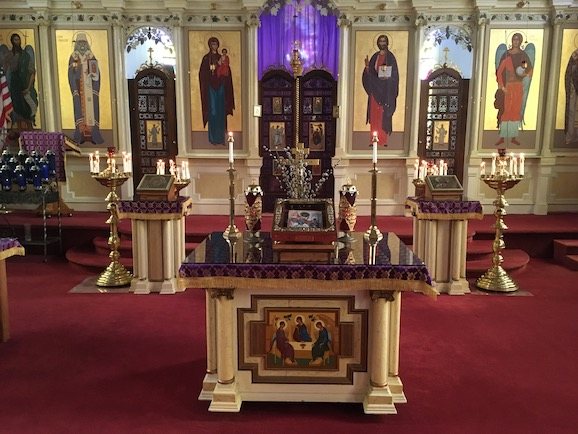Pictures from the Divine Liturgy for Transfiguration